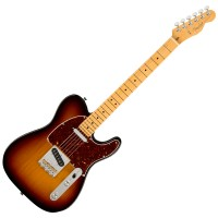 Photo FENDER AMERICAN PROFESSIONAL II TELECASTER 3-COLOR SUNBURST MN
