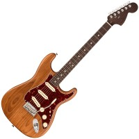 Photo FENDER AMERICAN PROFESSIONAL STRATOCASTER EDITION LIMITÉE AGED NATURAL SOLI