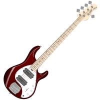 Photo STERLING BY MUSIC MAN STINGRAY RAY5HH CANDY APPLE RED