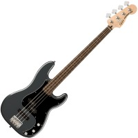 Photo SQUIER AFFINITY PRECISION BASS PJ CHARCOAL FROST METALLIC LRL