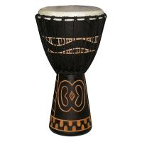 "Photo TANGA DJEMBE 10"" NOIR SCULPTURE GYE NYAME"