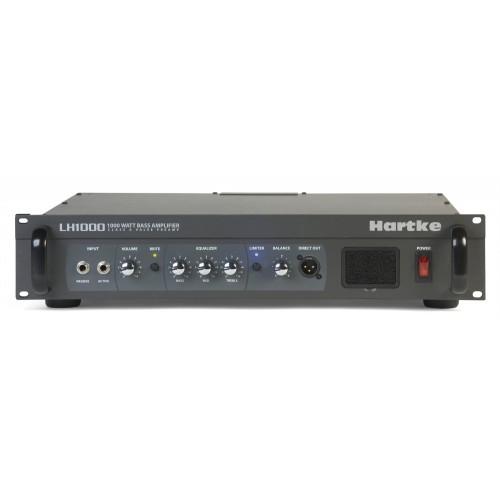HARTKE LH1000 - TÊTE D'AMPLI 1000W/4 OHMS - RACK 2U