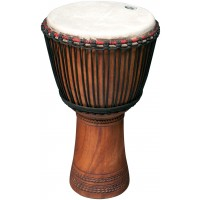 "Photo TANGA DJEMBE LINKE 11.5"" SCULPTE"