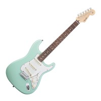 Photo FENDER STRATOCASTER JEFF BECK - SURF GREEN