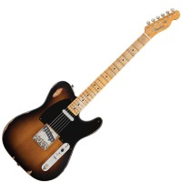 Photo FENDER ROAD WORN '50S TELECASTER 2-COLOR SUNBURST MAPLE