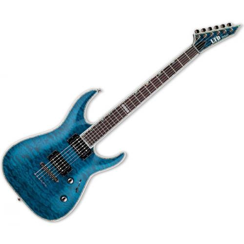 ESP LTD MH-1000 BLEU TRANSPARENT