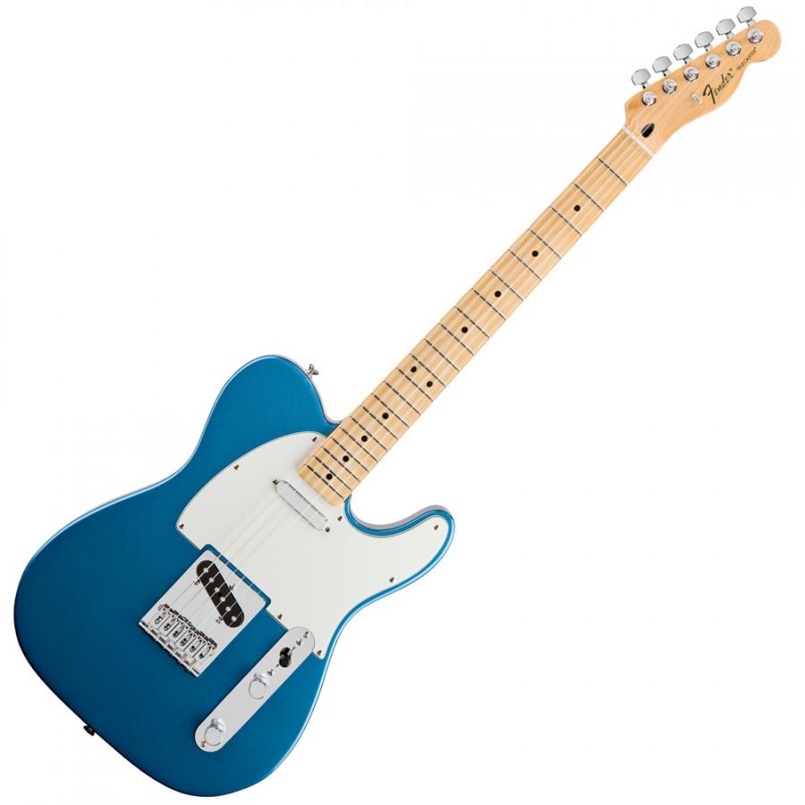 guitare electrique bleue