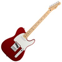 Photo FENDER STANDARD TELECASTER CANDY APPLE RED MAPLE