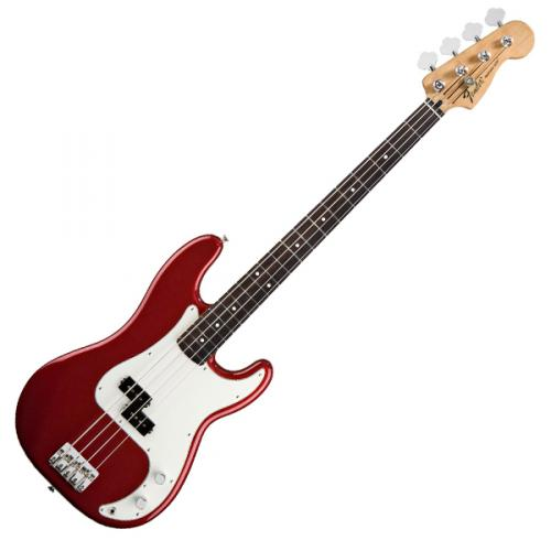 FENDER STANDARD PRECISION BASS CANDY APPLE RED ROSEWOOD