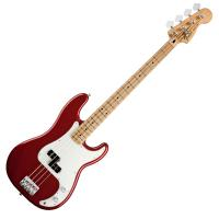 Photo FENDER STANDARD PRECISION BASS CANDY APPLE RED MAPLE