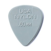 Photo DUNLOP 44P60 - NYLON GUITAR PICK 0,60MM X 12