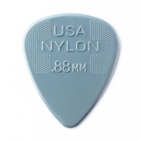 Photo DUNLOP 44P88 - NYLON GUITAR PICK 0,88MM X 12