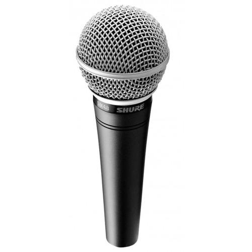 shure micro voix chant dynamique cardioide sm48 lc achat micro chant instrument shure vente. Black Bedroom Furniture Sets. Home Design Ideas